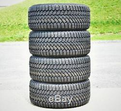 4 New Gislaved (Continental) Nord Frost 200 245/45R17 99T XL Winter Tires