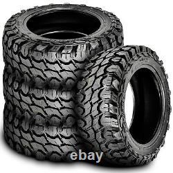 4 New Gladiator X-Comp M/T LT 33X12.50R20 Load F 12 Ply MT Mud Tires