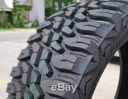 4 New Haida Mud Champ M/T HD868 LT35X12.50R24 Load E 10 Ply MT Mud Tires