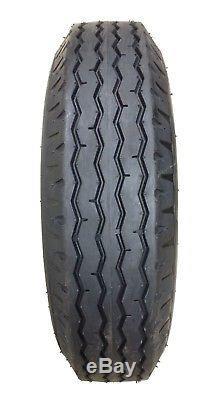 4 New Heavy Duty Highway Trailer Tires 8-14.5 14PR LR G- 11067