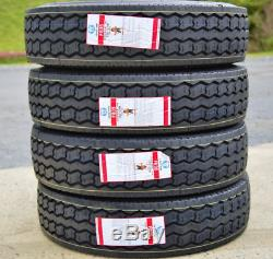 4 New Leao F835 ST235/85R16 G 14 Ply ASC All Steel Construction Trailer Tires