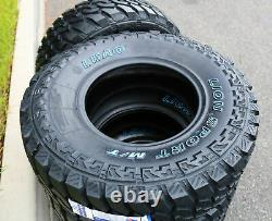 4 New Leao Lion Sport MT LT 265/70R16 Load C 6 Ply M/T Mud Tires
