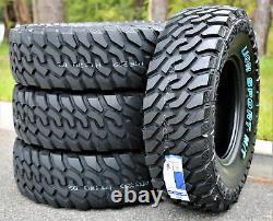 4 New Leao Lion Sport MT LT 33X12.50R20 Load E 10 Ply M/T Mud Tires