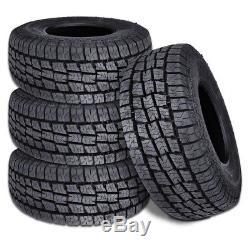 4 New Lionhart Lionclaw ATX2 LT275/65R20 126/123S All Terrain Tires