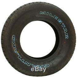 4 New Milestar Grantland 265/75r16 Tires 2657516 265 75 16