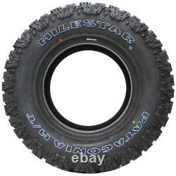 4 New Milestar Patagonia M/t 265x70r17 Tires 2657017 265 70 17