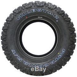4 New Milestar Patagonia M/t Lt31x10.50r15 Tires 31105015 31 10.50 15