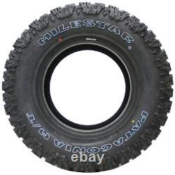 4 New Milestar Patagonia M/t Lt37x12.50r17 Tires 37125017 37 12.50 17