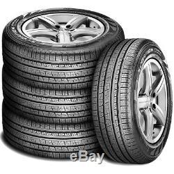 4 New Pirelli Scorpion Verde All Season 235/55R18 100H A/S Performance Tires