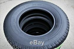 4 New Premium Cargo Max ST 205/75R14 D 8 Ply Steel Belted Radial Trailer Tires