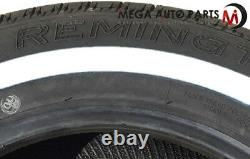 4 New Remington LX Touring WithW White Side Wall 155/80R13 79S All Season Tires