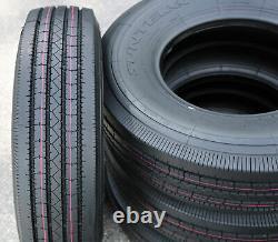 4 New Suntek HD Trail + All Steel ST 235/80R16 Load G 14 Ply Trailer Tires