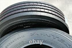 4 New Suntek HD Trail + All Steel ST 235/85R16 Load G 14 Ply Trailer Tires