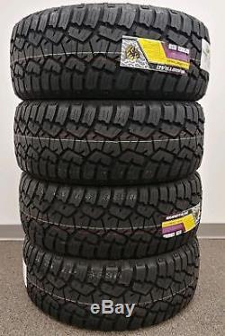 4 New Suretrac Radial A/t Lt35x12.50r20 Tires 12.50r 20 35 12.50 20