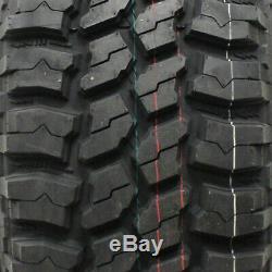 4 New Thunderer Trac Grip M/t R408 Lt265x70r17 Tires 2657017 265 70 17