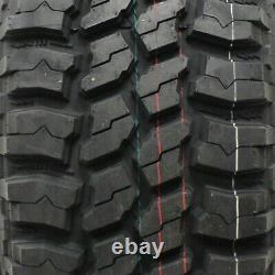 4 New Thunderer Trac Grip M/t R408 Lt33x12.50r15 Tires 33125015 33 12.50 15