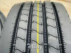 4 New Transeagle All Steel ST Radial ST 235/80R16 G 14 Ply A/S Trailer Tires
