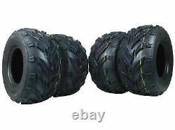 4 Pack of New 16x8.00-7 MASSFX ATV /ATC Tires Tire 16x8-7 16/8-7 16x8x7