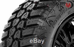 4 RBP Repulsor M/T RX 33X12.50R20LT 114Q 4X4 Off-Road MT All Terrain Mud Tires