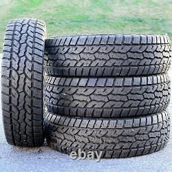 4 (Set) All Country A/T 285/75R16 Load E 10 Ply AT All Terrain (BLEM) Tires