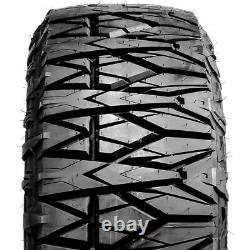 4 (Set) Rugged Terrain LT 35X12.50R22 10 Ply RT R/T Rugged Terrain (BLEM) Tires