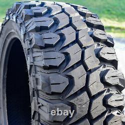 4 (Set) X-Comp M/T LT 35X12.50R22 Load E 10 Ply MT Mud (BLEM) Tires