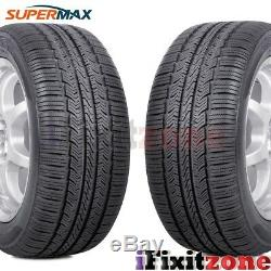 4 Supermax TM-1 TM1 All Season A/S Traction Premium Touring 195/65R15 91T Tires