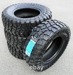 4 Tires Fortune Tormenta M/T FSR310 LT 33X12.50R15 Load C 6 Ply MT Mud