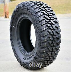 4 Tires Kanati Mud Hog M/T LT 295/60R20 (34x11.50R20) Load E 10 Ply MT Mud