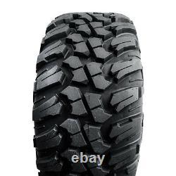 4-Tusk Terrabite Radial 8 Ply UTV Tire Set (4 Tires) 2- 25x10-12 and 2- 25x8-12
