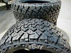 4 Venom Power Terra Hunter X/T LT 265/75R16 Load E 10 Ply A/T All Terrain Tires