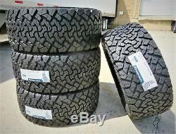 4 Venom Power Terra Hunter X/T LT 33X12.50R17 Load E 10 Ply Tires