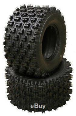 4 WANDA ATV Race tires 22x7-10 & 20x10-9 Honda TRX 250R 300EX 400EX 400X 450R