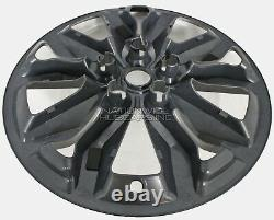 4 for Chevrolet Impala LT 2016-18 Black 18 Wheel Skins Full Rim Covers Hub Caps