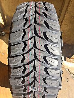 4 x NEW 33 12.5 15 Crosswind MT Mud Terrain mudder Tires 33X12.50R15 1250 Jeep