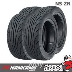 4 x Nankang 225 40 ZR18 92Y XL NS-2R Semi Slick Tyres