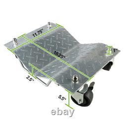 4PC Heavy Duty 1500Lb/Each Tire Car Wheel Dolly Dollies Skate Auto Repair Slide