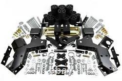 6 Front + 4.5 Inch Rear Lift Leveling Kit Fits 95-98 Chevrolet K1500 4X4 PRO