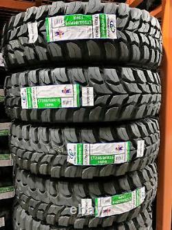 6 New Crosswind M/T LT 235/85R16 120/116Q E 10 Ply MT Mud Tires