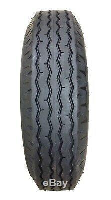 6 New Heavy Duty Highway Trailer Tires 8-14.5 14PR LR G- 11067