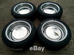 7x 13 JBW Smoothie Steel Wheels Classic Mini Set of 4 Silver + 175/50x13 Tyres