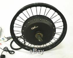 8000with72v Electric Bike Ebike Fat Tire or Regular Tire Conversion Kit