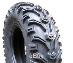 Bear Claw ATV Tires 25x8-12 25x10-12 Kenda All Terrain Set of 4 Front Rear 6 Ply