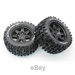 Broadened Waterproof Wasteland Tire Wide Wheel Tire for 1/5 Traxxas X-MAXX XMAXX