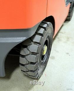 Clean! 2010 Toyota 3000 Lb Lpg Pneumatic Forklift 3,000 Lb 8fgu15 Air Tires