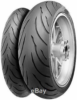 Conti-Motion 120/70-17 Front 190/50-17 Rear Continental Motorcycle Sport Tires