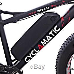 Cyclamatic Fat Tire Electric Mountain Bike / eBike