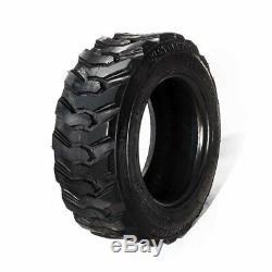 FOUR (4) New 10X16.5 SKID STEER Tires 10-16.5 BOBCAT LOADER 10 16.5 HD LOADMAXX