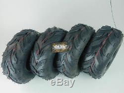 FOUR New MASSFX Tires 145/70-6 Go-Kart, ATV, Lawn, mini bike Tires 145x70-6