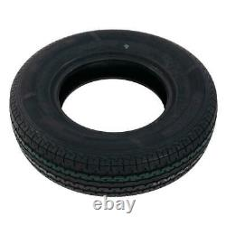 Four ST225/75-15 PSI 80 10 Ply E Load Radial Trailer Tires 22575R15